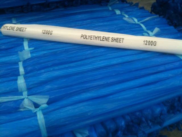 Polyethylene Sheet 1200 Gauge